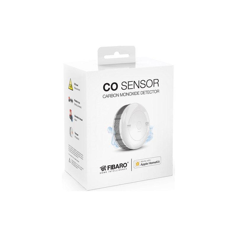 Fibaro CO sensor - Detecteur monoxyde de carbone Homekit