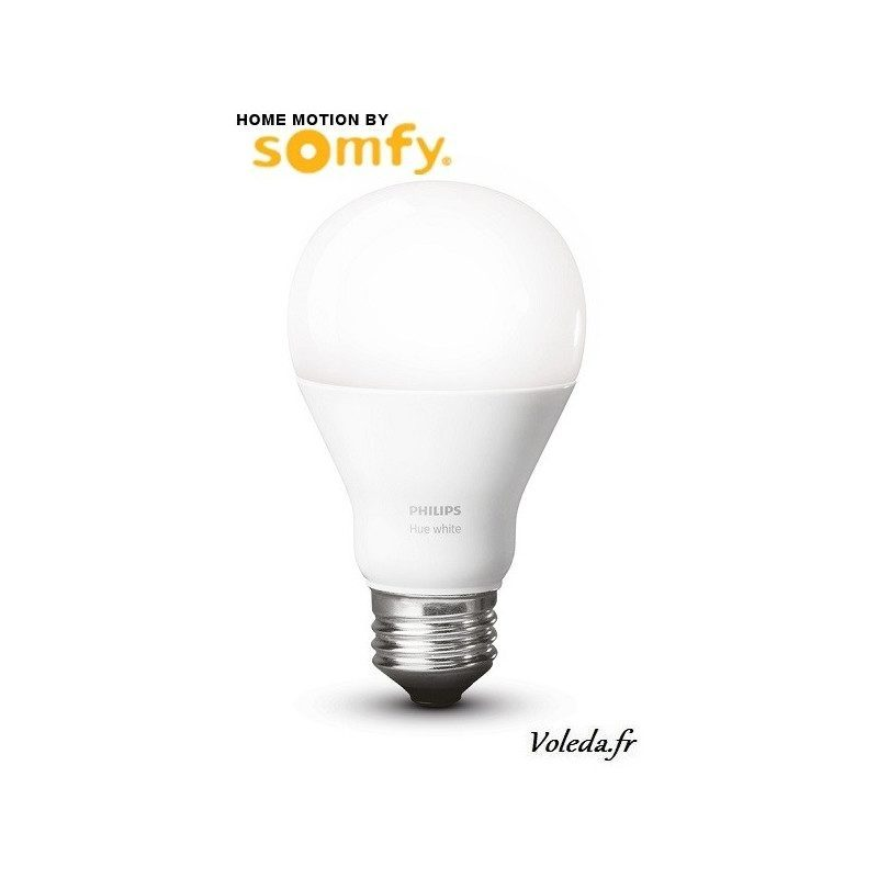 Ampoule blanche Philips Hue Somfy 1822511 - Eclairage connecté