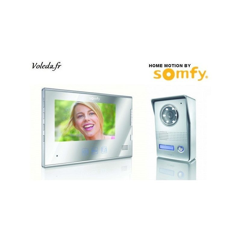 Visiophone Somfy V400 sans fil - Miroir