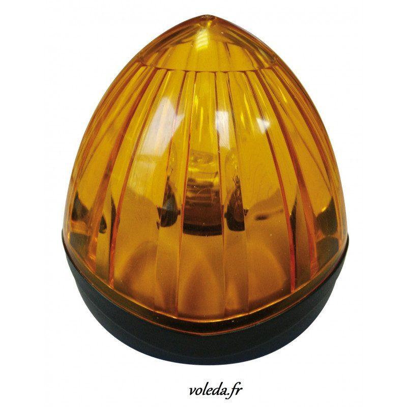 Feu de signalisation orange Simu Fixe 230V