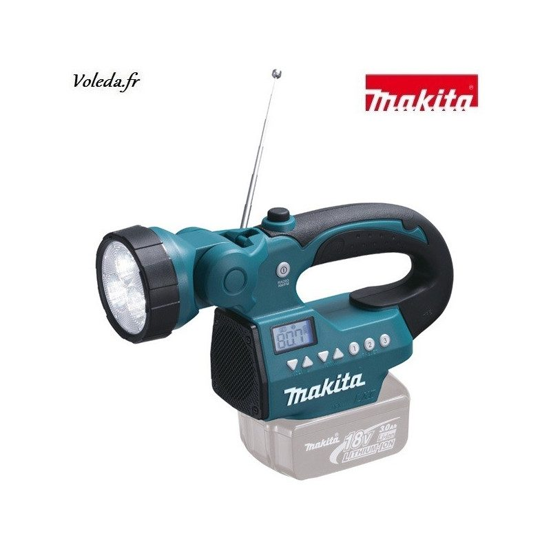 Lampe Makita LED radio - DMR050