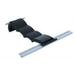 Verrou securite Blocksur tablier volet roulant 4 maillons lame 8 mm