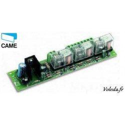 Carte électronique Came 001V0670 - Branchement 2 batteries