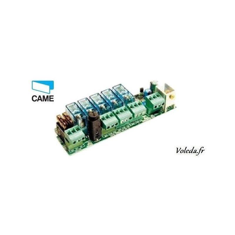 Carte électronique Came 002LBD2 - Branchement 2 batteries