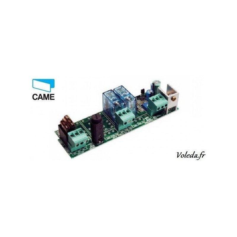 Carte électronique Came 002LBF40 - Branchement 2 batteries