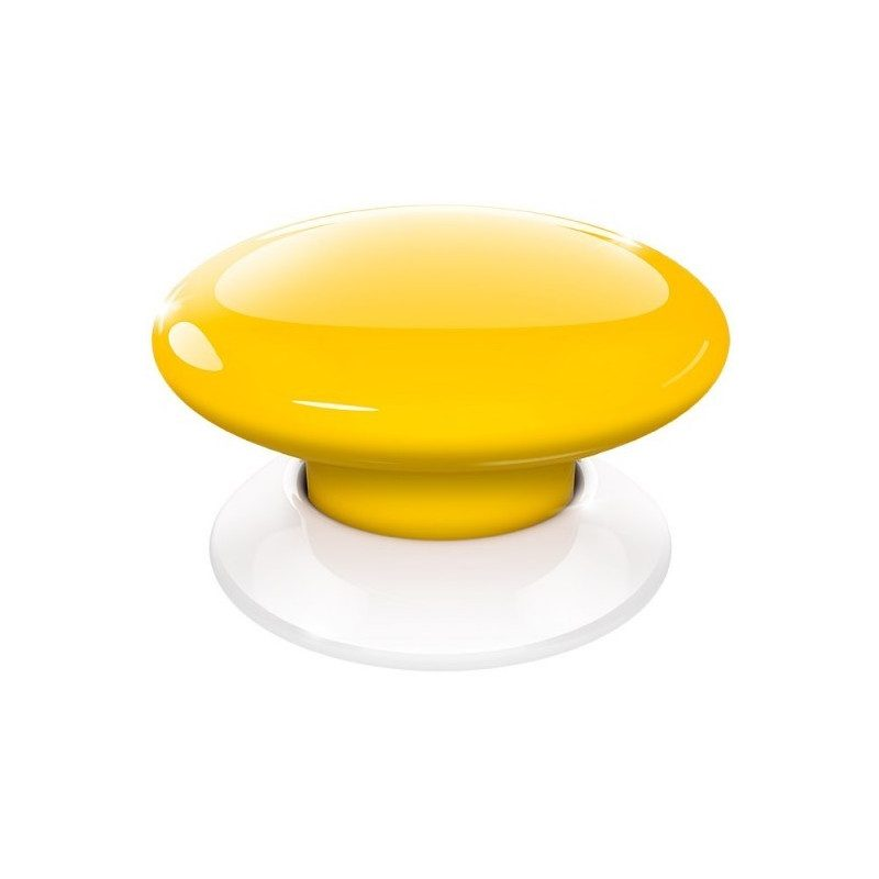 Fibaro the button - Emetteur Homekit - Jaune