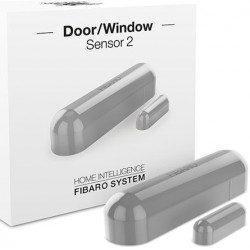 Fibaro door window sensor 2 - Detecteur d'ouverture Homekit - Gris