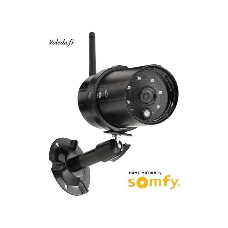 Camera de surveillance exterieure Somfy VISIDOM OC 100 - motorisée