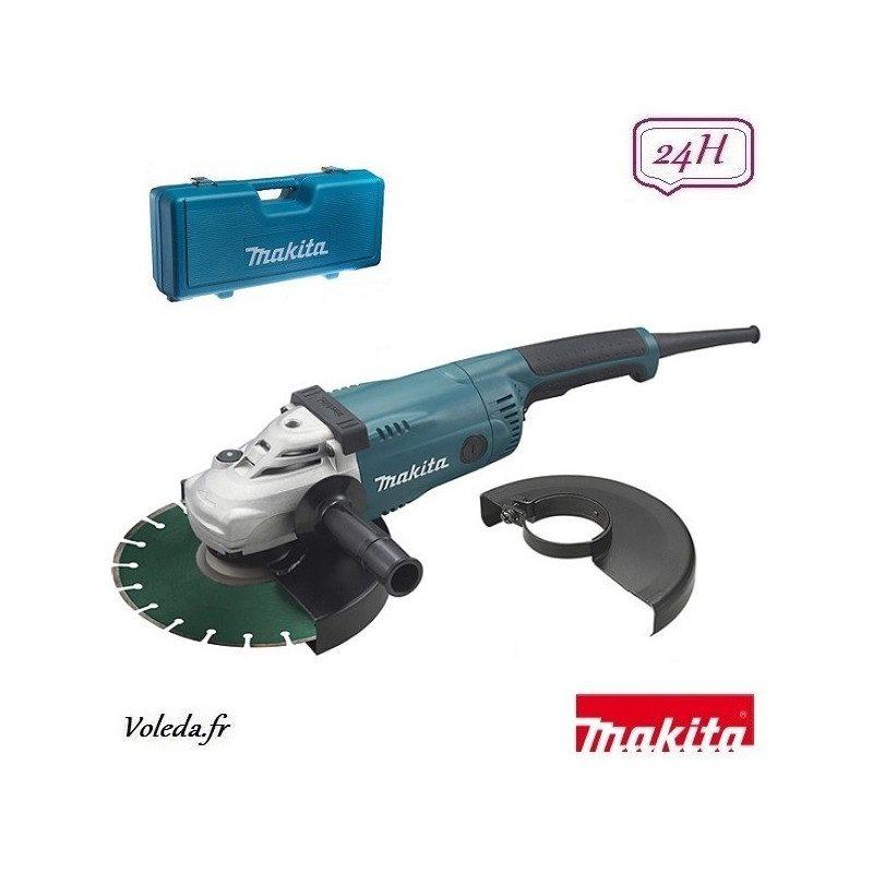 Meuleuse disqueuse Makita 2200 W 230 mm - GA9020KDX2