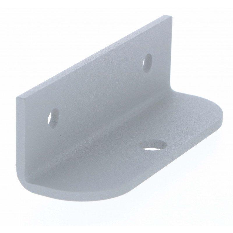 Platine de fixation Somfy Portail bras acier gris - Axovia Multipro