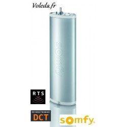 Moteur Somfy Glydea 35 DCT 0.6/105 pour rideaux et voilages 35kg maxi