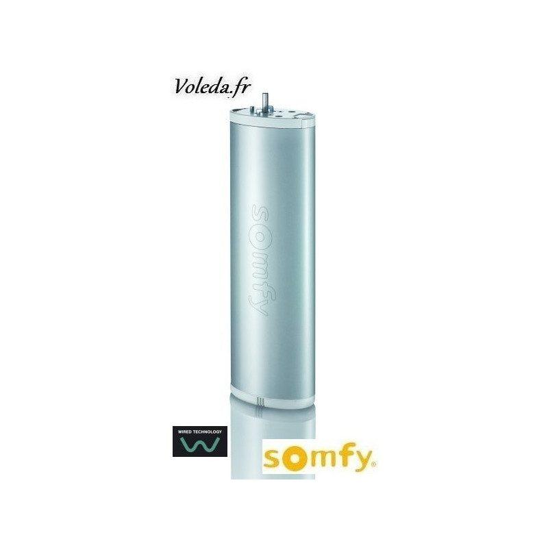 Moteur Somfy Glydea 60 WT 1/105 pour rideaux et voilages 60kg maxi