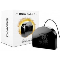 Fibaro Double Switch 2 - Interrupteur ON OFF - Z-wave Plus