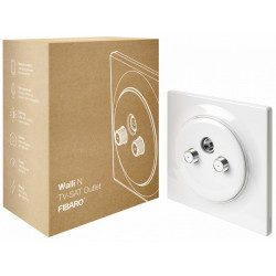 Fibaro Walli - Prise murale - N TV SAT Outlet