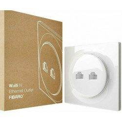 Fibaro Walli - Prise murale - N Ethernet Outlet
