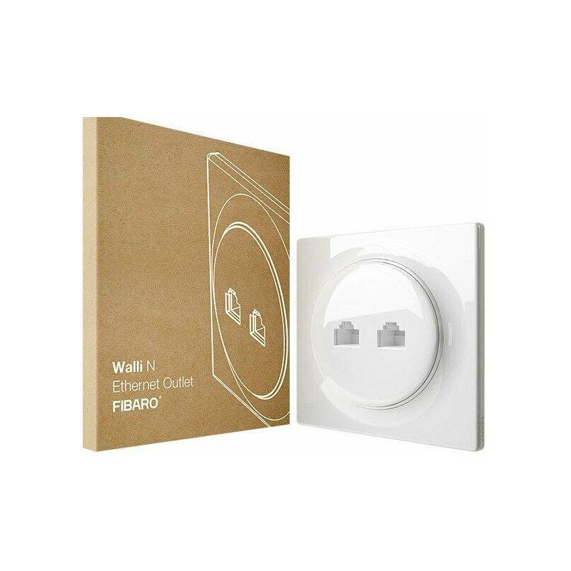Fibaro Walli - Prise N Ethernet Outlet