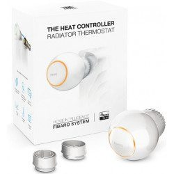 Fibaro Heat Controller - Tete thermostatique - Zwave Plus