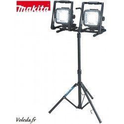 Lampe Makita ACC0008 - 2 lampes DML805 et trépied