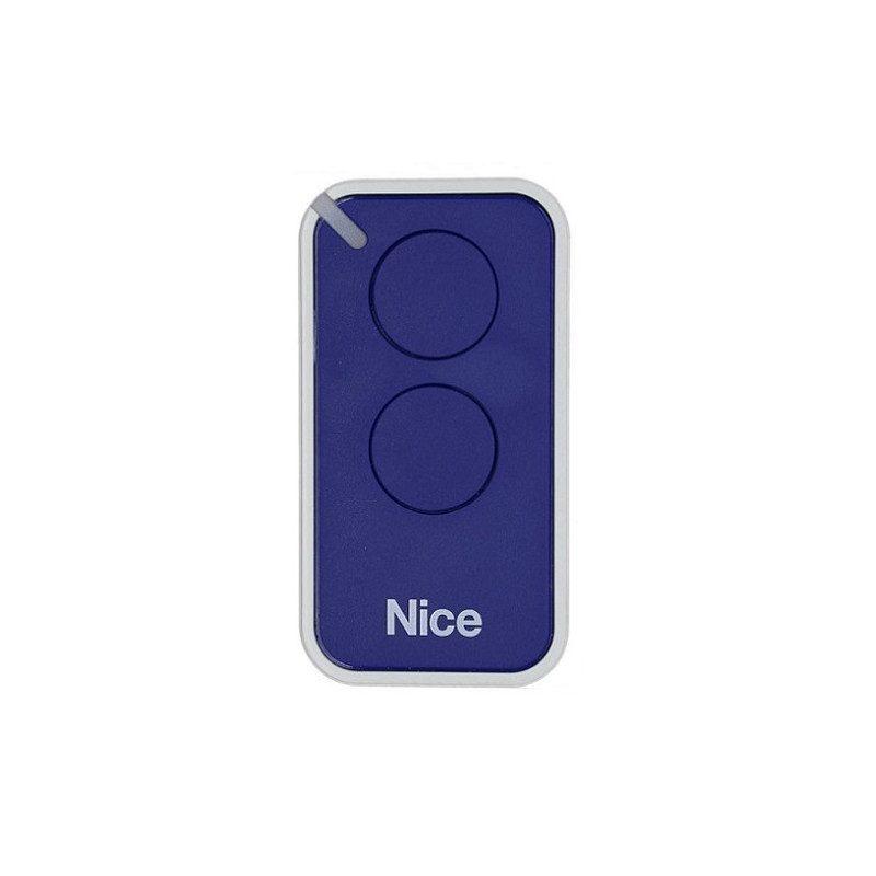 Telecommande - Emetteur Nice Era Inti 2 canaux - Bleu