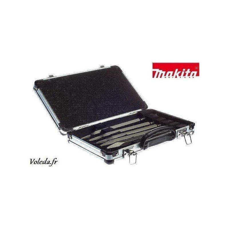 Coffret d'outils SDS-Plus Makita D-16368 pour perforateur-burineur Makita