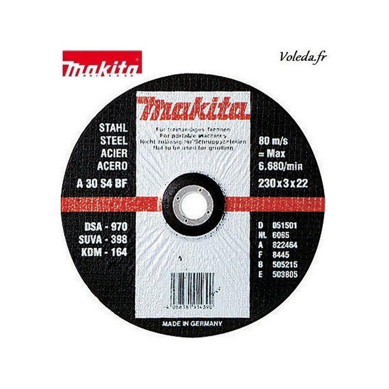 Disques Makita P-35461-10 à tronçonner 115 mm