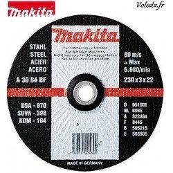 Disques Makita B-12239 à tronçonner 125 mm