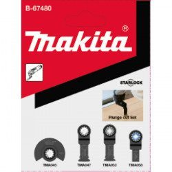 Jeu de 4 lames Makita B-67480