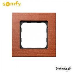 Cadre Smoove Somfy 9015236 - Merisier