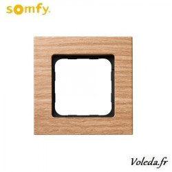 Cadre Smoove Somfy 9015026 - Bambou fonce
