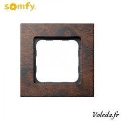Cadre Smoove Somfy 9015237 - Noyer