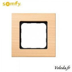 Cadre Smoove Somfy 9015027 - Bambou clair