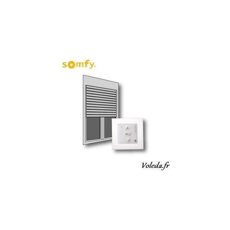 Kit de modernisation Somfy io - bloc baie fenêtre