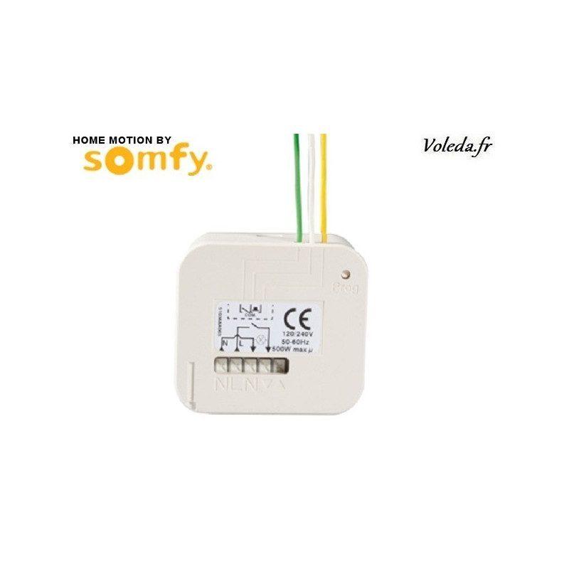 Micro-recepteur RTS Somfy - Eclairage connecte