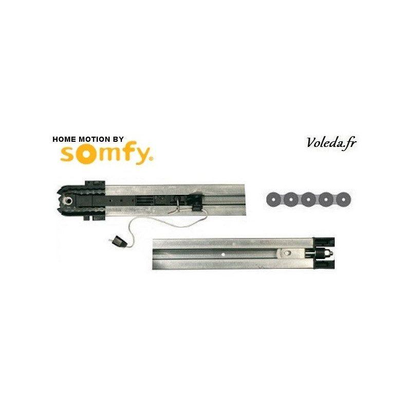 Rail chaîne Somfy Dexxo pro - Porte de garage