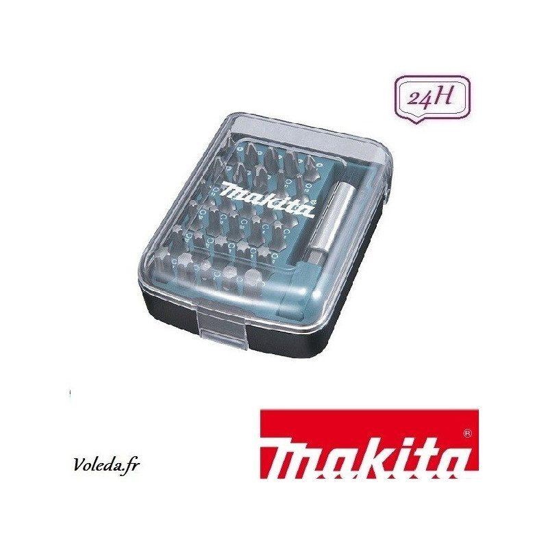 Coffret d'embouts pour perceuse visseuse Makita D-34936