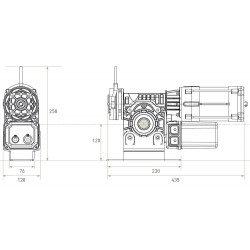 Moteur Gaposa LP Rapido 90 Nm - LP9090/TMM - Portes industrielles