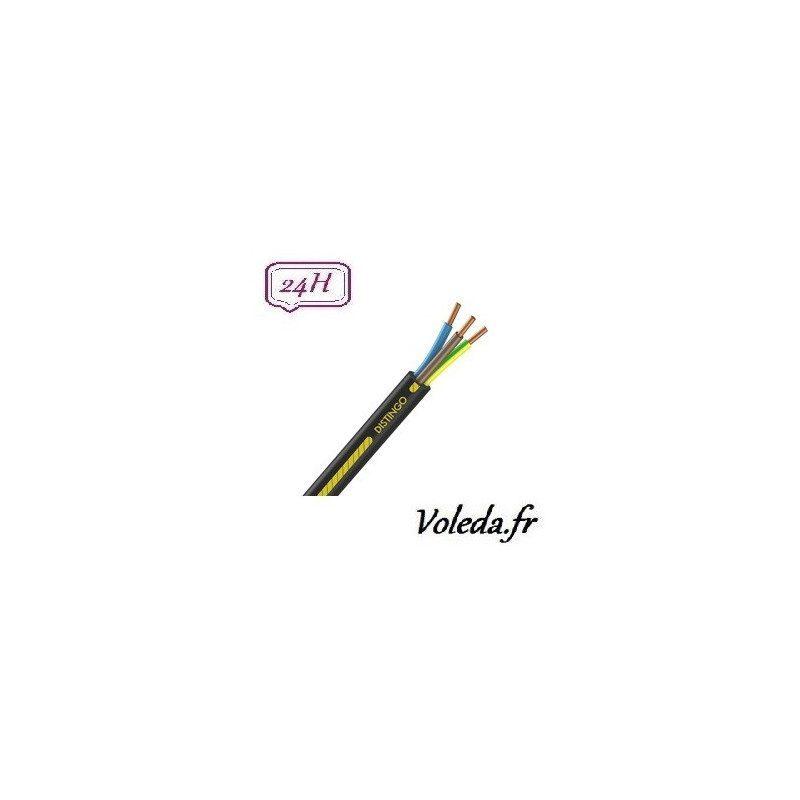 Cable R2V 3G2.5 100 M - Cable electrique Nexans - 2,5 mm²