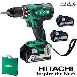 Perceuse visseuse Hitachi DS18DBSL5AX3 - 18V 5 Ah Li-ion