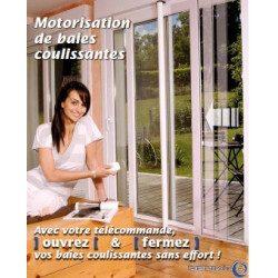 Motorisation de fenêtre et de baie coulissante - Moteur Deprat Win Com radio - brut