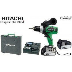 Perceuse visseuse Hitachi DS18DBL 4A - 18 V 4 Ah Li-ion