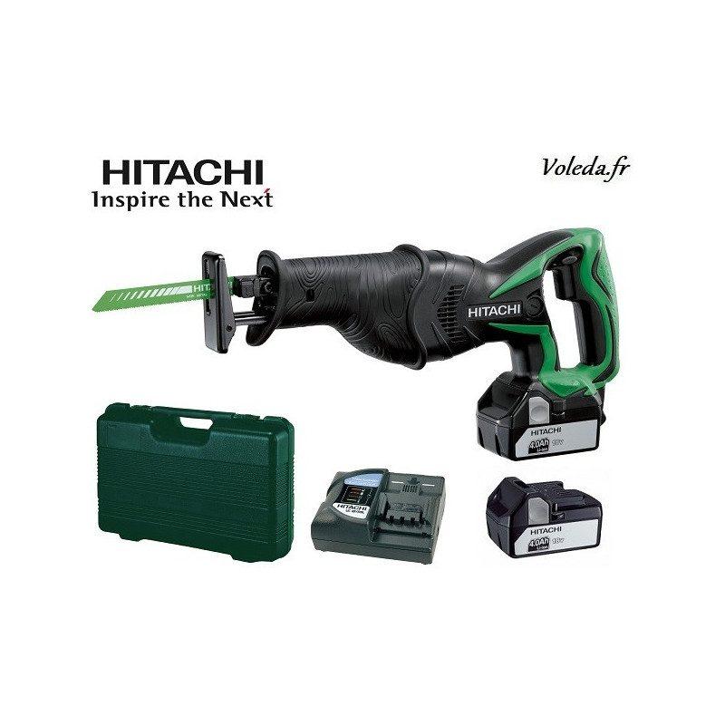 Scie sabre Hitachi CR18DSL 4A - 18 V 4 Ah Li-ion