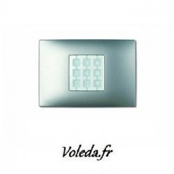 Plaque murale Nice Opla rectangulaire Vert d'eau - emetteur NiceWay