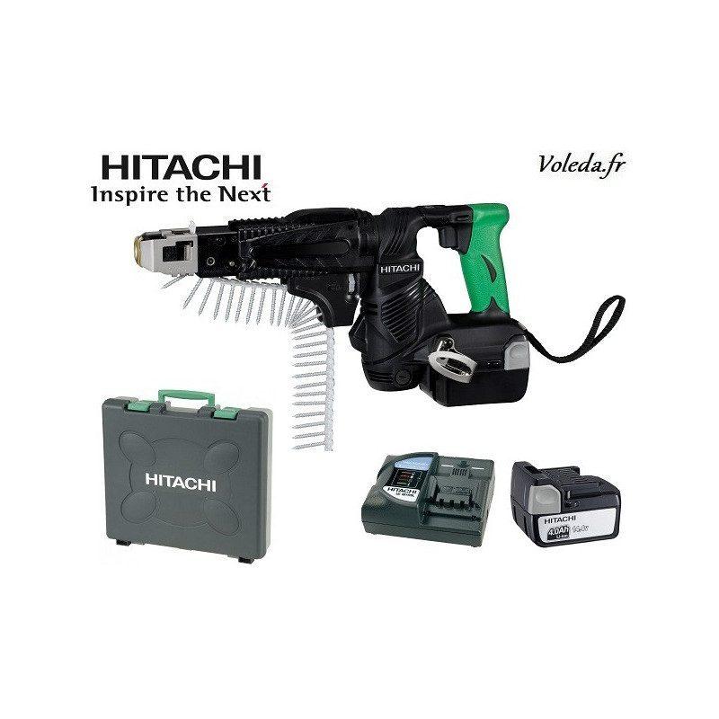 Visseuse à bande Hitachi WF14DSL 4A - 14,4 V 4 Ah Li-ion
