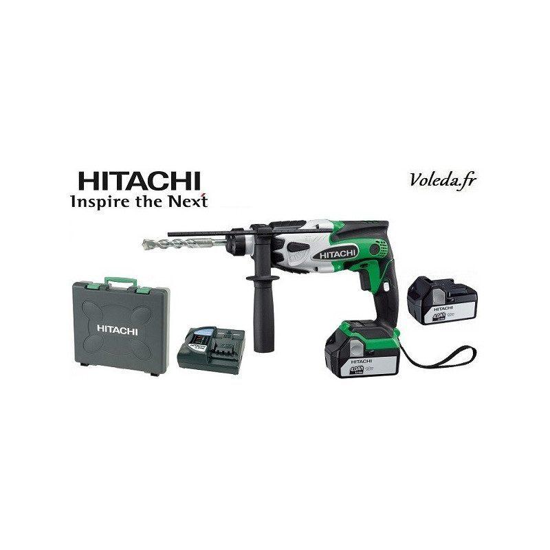 Perforateur SDS plus Hitachi DH18DSL 4A - 18 V 4 Ah Li-ion