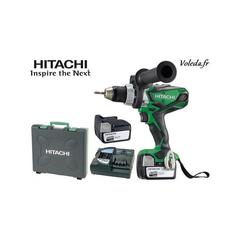 Perceuse visseuse Hitachi DS14DSDL 4A - 14,4 V  4 Ah  Li-ion