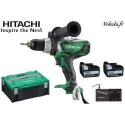 Perceuse visseuse Hitachi DS14DSDL 5A - 14,4 V  5 Ah  Li-ion