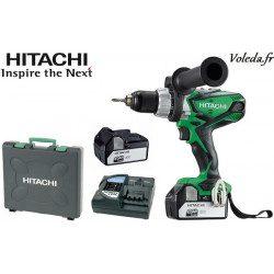 Perceuse visseuse à percussion Hitachi DV18DSDL 4A - 18 V 4 Ah Li-ion