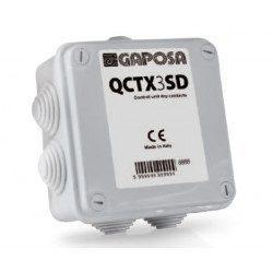 Commande avec emetteur Gaposa QCTX3SD - 1 canal