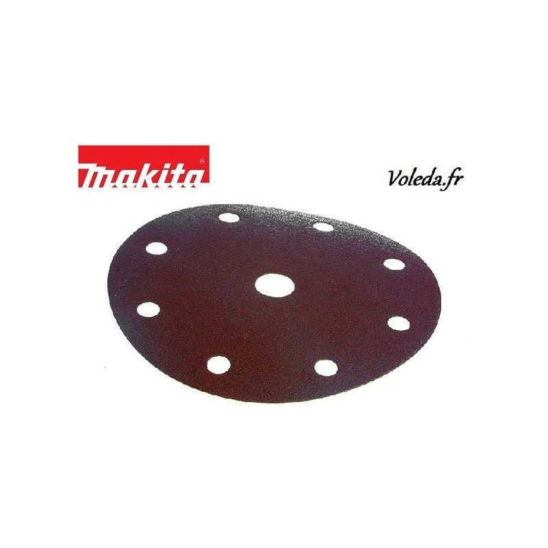Disques abrasifs Makita  P-31996 150 mm 8+1 trous