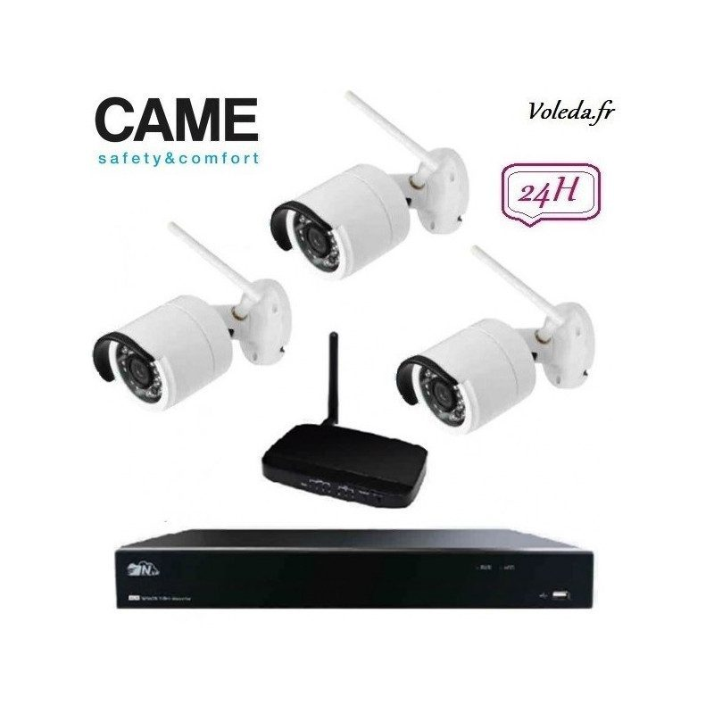 Kit Videosurveillance Came IP Wifi 001FR2276CCTV 3C